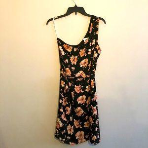 One shoulder Floral Summer Dress